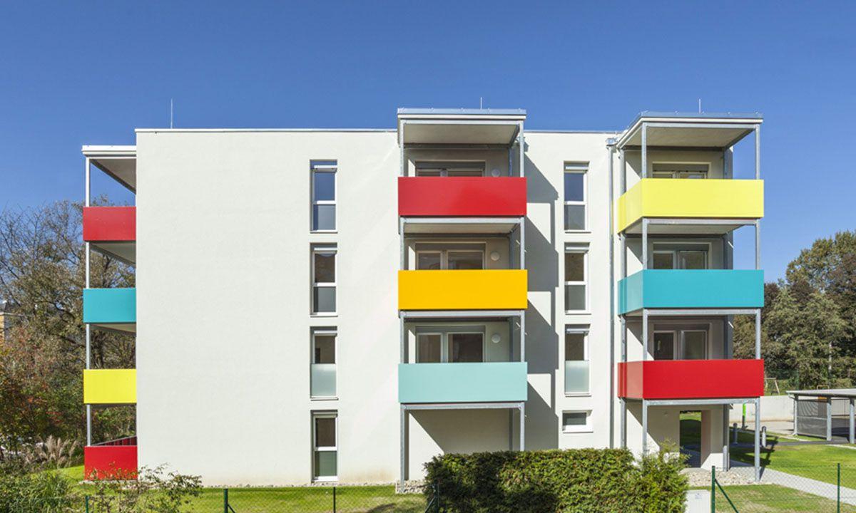 Wohnbau am Rehgrund in 8043 Graz