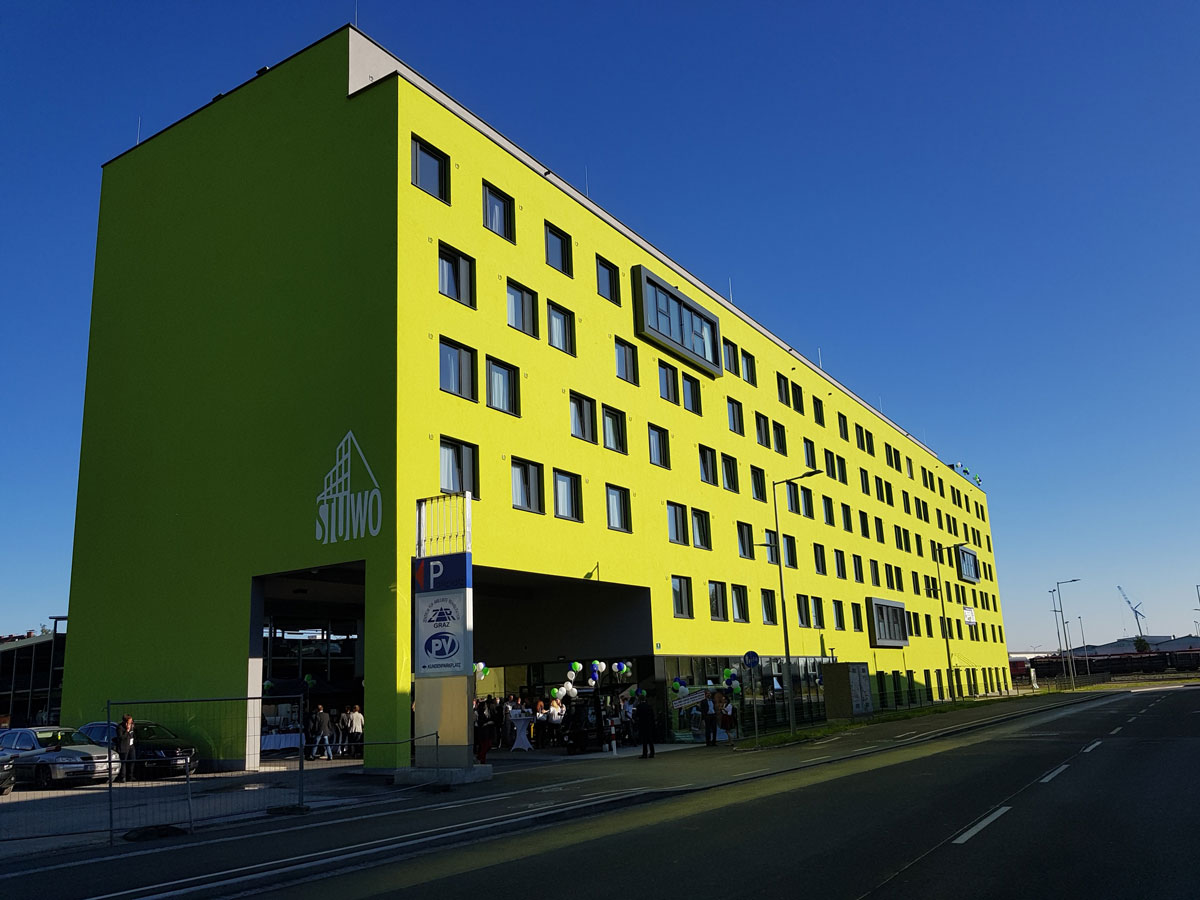 "Studentenwohnheim ""Smart Living"" in 8020 Graz"